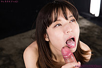 Shirasaki Miwa Teasing And Sucking Cock And Getting Cum In Mouth