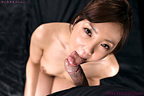 Pretty Yoshida Mio Sucking Cock On Her Knees Licking Cum Fingers