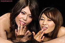 Miura Akina And Yasukawa Mai Giving Handjob Naked