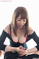 Holding Spent Cock Cum Over Her Hands Bare Tits