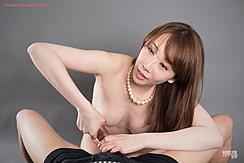 Giving Handjob Nude Pearl Necklace Long Hair
