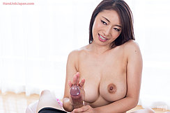 Topless Stroking Cock Big Tits