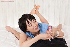 Cock Cumming In Her Hands Cum Running Down Over Her Fingers Bare Feet