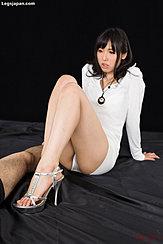 Seated With Knees Raised Wearing High Heels