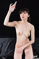 Playing With Cum Naked Hand Raised Cum Dripping From Her Hand