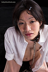 Shirt Open Exposing Her Small Breasts Mikami Ayaka With Cum In Her Hair And Over Her Face