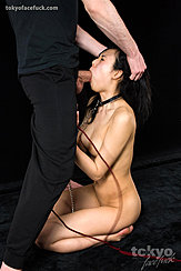 Hands Holding Her Head Face Fucked Shapely Breasts