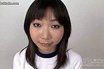 Gym class girl Mai gets cum all over her face and small breasts