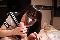 Cute Kogal Mizushima Ai Sucking And Stroking Big Cock In Uniform